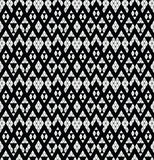 Tribal monochrome lace. Royalty Free Stock Images