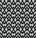 Tribal monochrome lace. Stock Image
