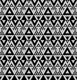 Tribal monochrome lace. Stock Photo