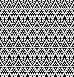 Tribal monochrome lace. Stock Photography