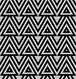 Tribal monochrome lace. Stock Images