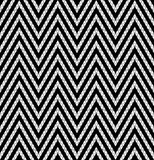 Tribal monochrome lace. Royalty Free Stock Photo