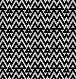 Tribal monochrome lace. Stock Image