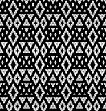 Tribal monochrome lace. Stock Photos