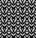 Tribal monochrome lace. Royalty Free Stock Photography