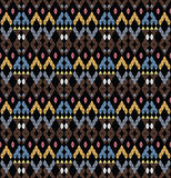 Tribal monochrome pattern. Stock Images