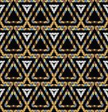 Tribal monochrome pattern. Stock Photography