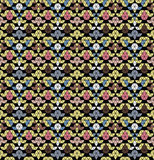 Tribal monochrome pattern. Stock Image