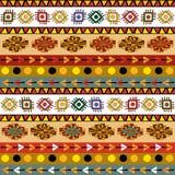 Tribal motif seamless Royalty Free Stock Images