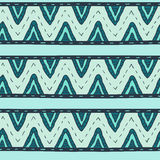 Tribal multicolor seamless pattern, indian or african ethnic patchwork style Royalty Free Stock Photos
