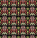 Tribal multicolored pattern. Royalty Free Stock Photography