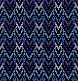 Tribal multicolored pattern. Royalty Free Stock Photo