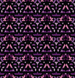 Tribal multicolored pattern. Royalty Free Stock Image