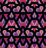 Tribal multicolored pattern. Stock Photos