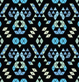 Tribal multicolored pattern. Stock Photo