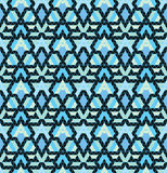 Tribal multicolored pattern. Royalty Free Stock Photos