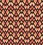 Tribal multicolored pattern. Royalty Free Stock Images