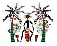 Tribal Music Stock Photography