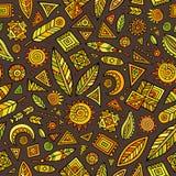 Tribal native ethnic seamless pattern Royalty Free Stock Image