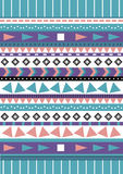 Tribal native shape patterns Stock Image