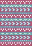 Tribal native shape patterns Stock Photos