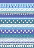 Tribal native shape patterns Royalty Free Stock Image