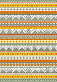 Tribal native shape patterns Stock Images