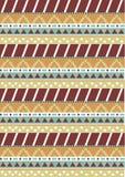 Tribal native shape patterns Royalty Free Stock Photos