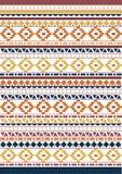Tribal native shape patterns Royalty Free Stock Photography