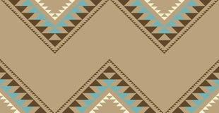 Tribal, nativo americano, testes padrões do gráfico da forma Imagem de Stock Royalty Free