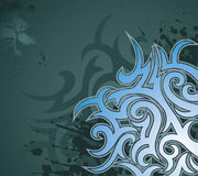 Tribal ornament Royalty Free Stock Images