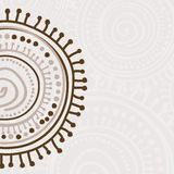 Tribal ornament background Stock Photography