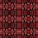 Tribal Ornament Pattern Stock Photography