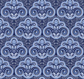 Tribal ornament seamless pattern Royalty Free Stock Images