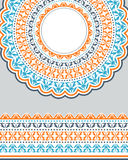 Tribal ornamental background. Royalty Free Stock Images