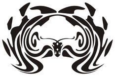 Tribal owl Stock Image