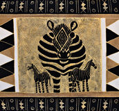 Tribal painting stock image