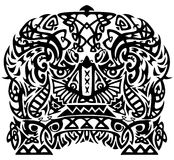 Tribal pattern Royalty Free Stock Image