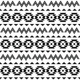Tribal pattern, Aztec seamless background Stock Photo