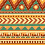 Tribal pattern. For background, and for creative stuffs Stock Photos