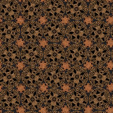 Tribal pattern in brown tones royalty free stock photo