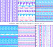 Tribal pattern collection Stock Photo