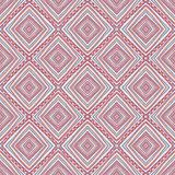 Tribal pattern with rhombus Royalty Free Stock Photography