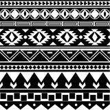 Tribal pattern Stock Images