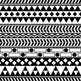 Tribal pattern Stock Photography