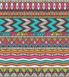 Tribal  pattern. Seamless hand-drawn background. EPS 10 Royalty Free Stock Photography