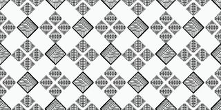 Tribal pattern vector with black and white hand drawn ethnic symbol. Abstract african ancient drawing background ready for fashion. Textile print and wrapping royalty free illustration