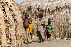 Tribal people from Africa, Kenya Royalty Free Stock Photo