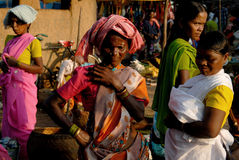 Tribal People in India Royalty Free Stock Image