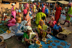 Tribal People in India Royalty Free Stock Photos